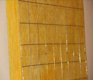 供应加钢丝网玻璃棉板