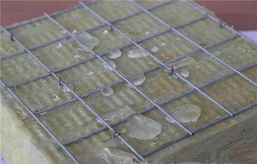 加固加钢丝网玻璃棉板